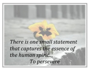 Persevere quote