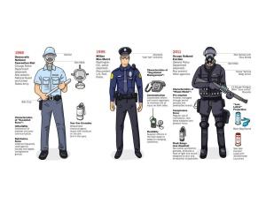 POLICE UNIFORMS 1968-2011